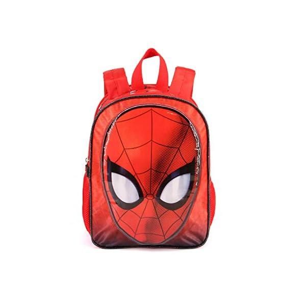 4179ZgK8zeL. SS600  - Karactermania Spiderman Spiderweb-Dual Rucksack (Klein) Mochila Infantil 32 Centimeters 9.25 Rojo (Red)
