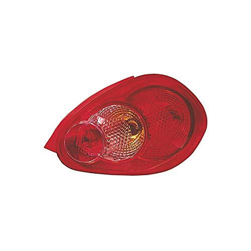 Achterlicht rechts zonder deur lamp voor AYGO van 2005 tot 2008