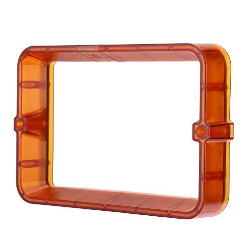 Hopcd Accessori per stampanti 3D, Scanalatura per Rilascio di Resina fotosensibile Plastica Arancione 6,3 Pollici per Creality Stampante 3D LD-001 LD-003 Adatto per ANYCUBIC
