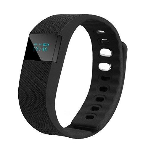 Waygo Sports Bracelet Tw64 Smart montre bracelet de sport Bluetooth 4.0 sans fil Smart Sports Bracelet podomètre sommeil moniteur Compteur de calories Fitness tracker d'activité