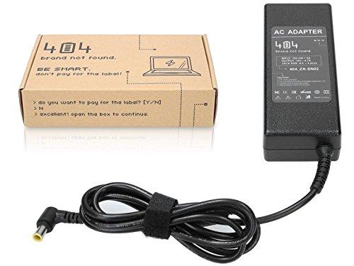 Wessper 404Brand Caricatore del Computer Portatile per Sony Vaio VPCEH2N1E Senza Il Cavo di Alimentazione (19V, 4.7A, 90W, 6.3-4.4mm)