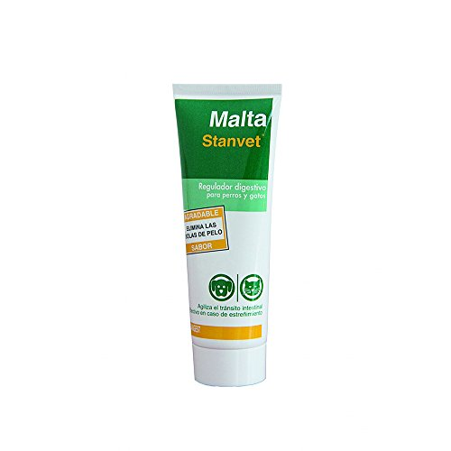 Stangest Malta Stangest para Perros y Gatos | Suplemento Alimenticio | Regulador Digestivo | Favorece el Transito Intestinal | Elimina Bolas de Pelo | 100 g