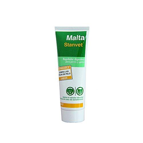 Stangest Malta Stangest para Perros y Gatos   Suplemento Alimenticio   Regulador Digestivo   Favorece el Transito Intestinal   Elimina Bolas de Pelo   100 g