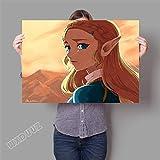 XWArtpic 3D Online Spiel Poster Für kinderzimmer Schlafzimmer Dekoration wandkunst HD Kindergarten Kinderzimmer Cartoon Movie leinwand malerei 40 * 50 cm