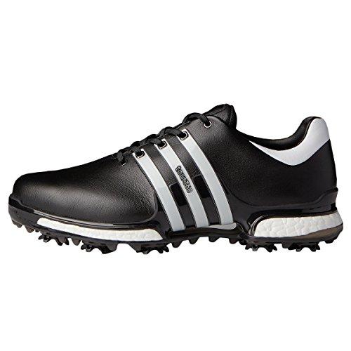 adidas Men's Tour 360 Boost 2.0 Golf Shoes, Black (Black Q44936), 7 UK