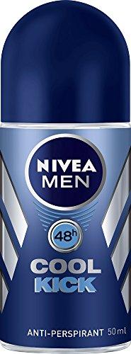 NIVEA MEN Cool Kick Roll On Anti-Perspirant Deodorant, 50ml