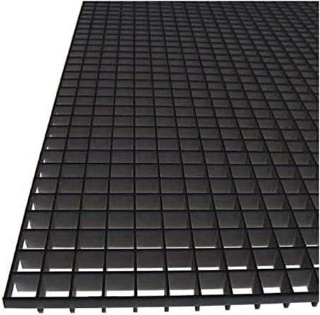 Memphis Mall Fluorolite Plastics Egg Crate Panel Polystyrene - Color Black Sale item