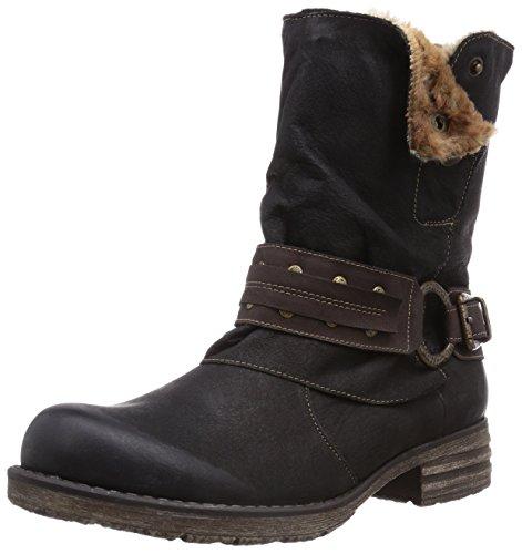 Remonte Damen Biker Boots, Schwarz (01), 36 EU