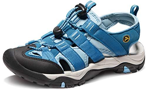 ATIKA Women's Sports Sandals Trail Outdoor Water Shoes 3Layer Toecap, Athena(w109) - Wine, 6