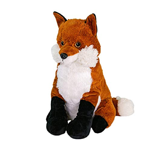STC Stores/The Hot Water Bottle Shop Cuddly Microondable Clay Bead Heaties/Juguete (Rafferty The Fox)