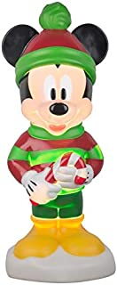 mickey mouse christmas blow mold