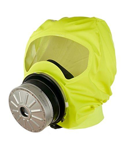 Dräger PARAT 7520 Cagoule d'évacuation industrielle & incendie | Cagoule auto-sauveteur avec filtre combiné ABEK CO P3 | Soft Pack (version pochette souple)