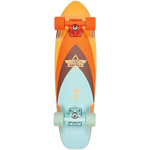 Dusters Cruiser Bird 27Flutter Brown Arancione, Skateboard Completo Multicolore Dimensione 27