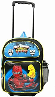 Large Rolling Backpack - Power Rangers - Fury Fire New School Bag 35307-2
