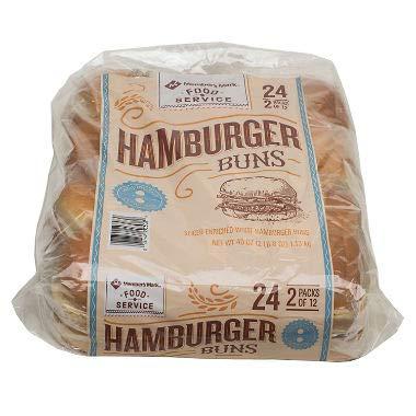 Member's Mark Hamburger Buns 24 ct., 40 oz. A1
