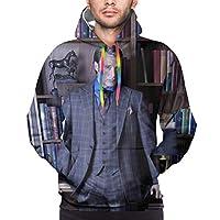 ハンニバル (8) プルオーバー フーディ 秋冬 長袖 メンズ スウェット おしゃれ パーカー 帽衫スリーブ 上着 長袖 フード付き 快適 連帽 スウェット 安い パーカー ゆったり コート フード付き