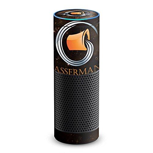 DeinDesign Cover kompatibel mit Amazon Echo 1. Generation Folie Skin Sticker aus Vinyl-Folie Sternzeichen Wassermann Astrologie
