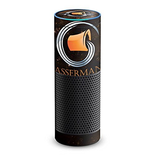 DeinDesign Amazon Echo 1. Generation Folie Skin Sticker aus Vinyl-Folie Sternzeichen Wassermann Astrologie