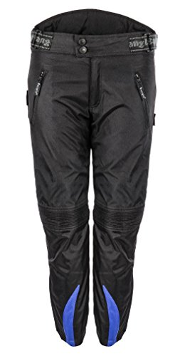 Bangla Kinder Motorradhose Textil 2152 Schwarz blau 128