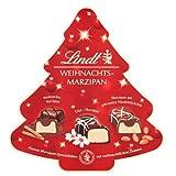 Lindt Weihnachts-Marzipan Spezialitäten | 175 g Pralinen-Schachtel mit Edelmarzipan | Ideales Schokoladen-Geschenk