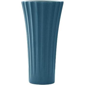 HCHLQLZ 20cm Blu Fiori Vaso Decorativo di Design Moderno Collection per Ricorrenze Decorazioni per Interni Ristorante Bar Cafe Porcellana