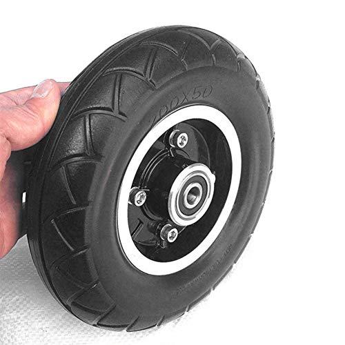 housesweet 8 Pulgadas Scooter eléctrico Neumático de Rueda sólida Rueda sólida sin Aire, Resistente al Desgaste 200x50