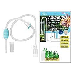 TERAPUMP Genuine Aquarium Pond Fish Tank Cleaner
