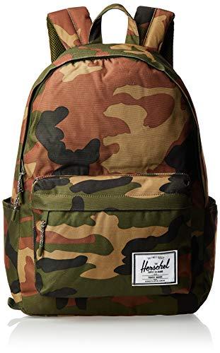 Herschel Unisex-Erwachsene Classic X-Large Rucksack, Woodlang/Camouflage, 30L