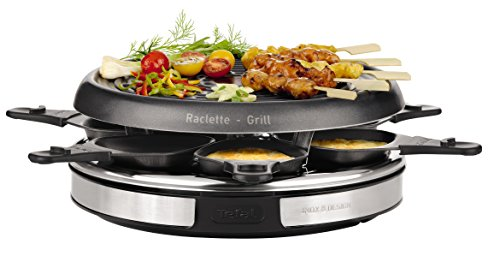 Tefal RE127812 Raclette-Grill, roestvrij staal
