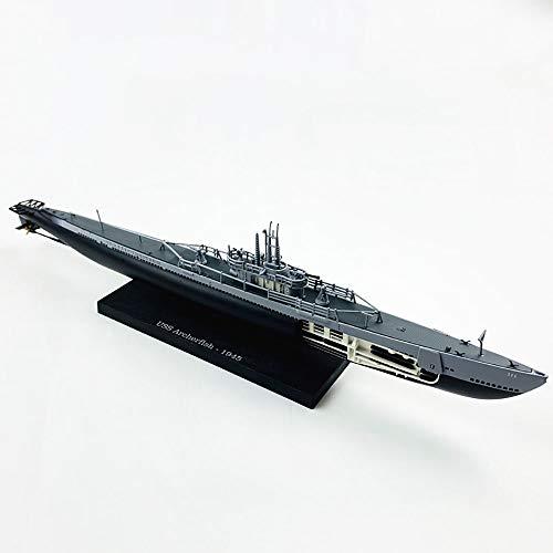 Lllunimon 1/350 USS Archerfish U-Boot-Modell Diecast Metall U-Boot Military Warship-Modell Miniatur-Replikat-Sammlung