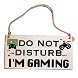 Gaming Room Decor Gifts For Teen Boys Gamer Gifts for Boyfriend Do Not Disturb I'm Gaming Funny Gifts For Fathers' Day Kids Teenage Mens Husband Womens Game Lovers Novelty Gifts Under 10 15 Dollars