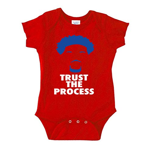 The Silo Red Philadelphia Embiid Process Baby 1 Piece 18 Months