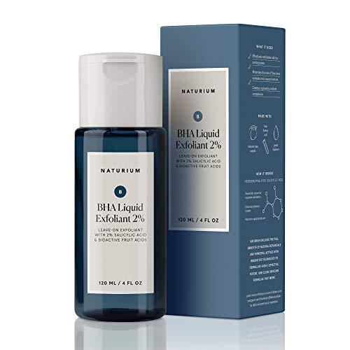 Naturium BHA Liquid Exfoliant 2% - Anti-Aging Leave-On Exfoliant Unclogs Pores - 4 oz