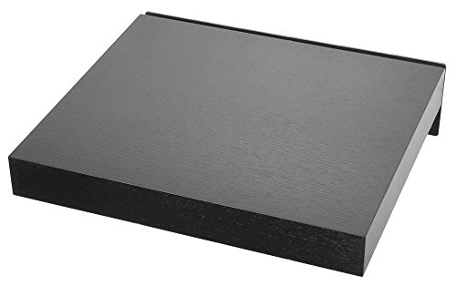 Pro-Ject Wallmount IT 5 Wandhalterung für HiFi Geräte, schwarz, Stellfläche Esche schwarz