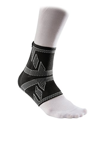 McDavid 5132 Elite Engineered Elastic Ankle Sleeve with Compression Ankle Support for Relief from Ankle Injuries, Sprains and Pains