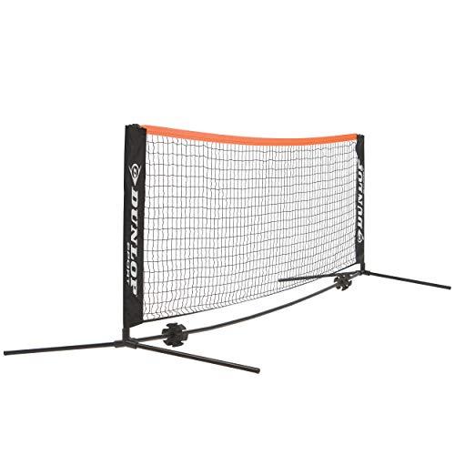 Dunlop Mini Tennis Netz und Pfostenset 6 m