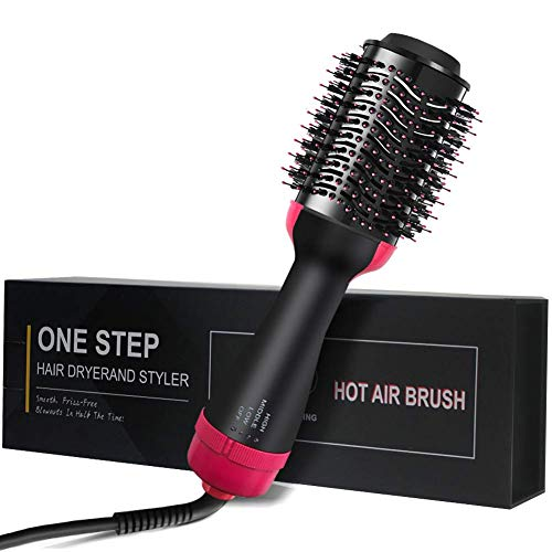 Price comparison product image Hair Dryer Brush One Step Hair Dryer & Volumizer,  YonRui Hot Air Brush & Styler Hair Straightener Curler for Reduce Frizz and Static