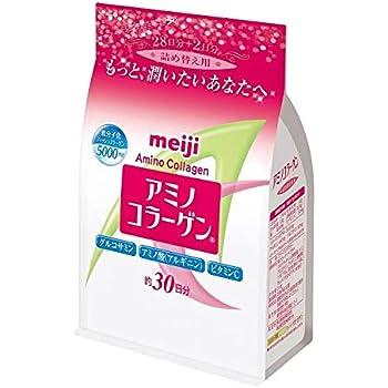 アミノコラーゲン 詰め替え用 (214g)×3袋 【明治 アミノコラーゲン アミコラ】