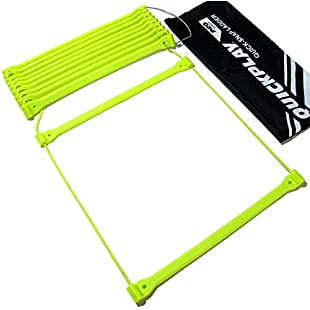 QUICKPLAY PRO Agility Ladder | No Tangle | 11-Rungs | 2YR WARRANTY | Quick Lock Adjustable Rungs