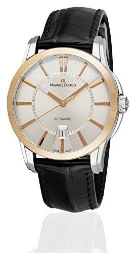 Maurice Lacroix Pontos Date Automatik Uhr, 18k Roségold, PT6148-PS101-130-2