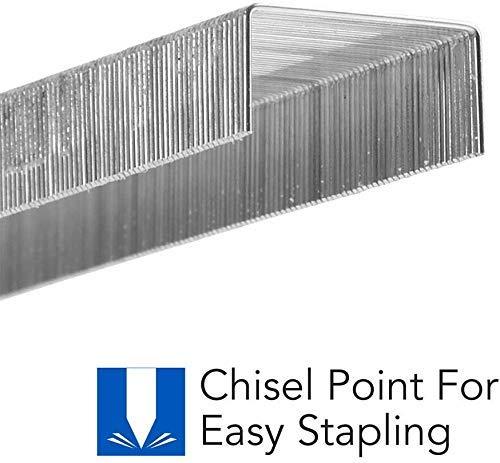 """Swingline Stapler Bundle of 2: Desk Stapler, 20 Sheet Capacity (Black) & 2 Packs of Standard Staples (1/4"""" Length, 210/Strip, 5000/Box)   Stapler Remover Photo #3"""