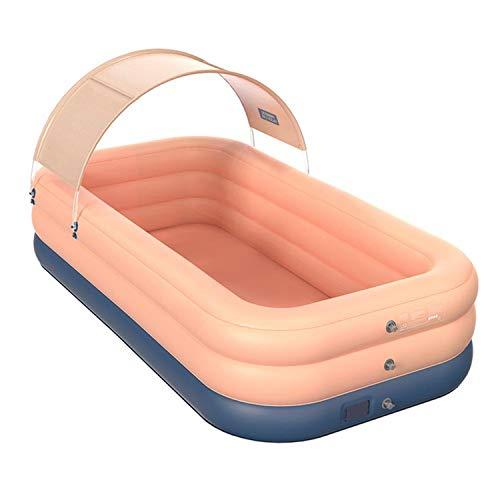xfyx Piscina Inflable, Piscinas inflables para niños, Piscinas Familiares, para niños pequeños, niños/Adultos Piscina Infantil de Gran tamaño Piscina Exterior Inflable