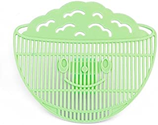 Corcrest(TM) Durable 1Pcs Home Kitchen Manual Clean Rice Wash Rice Sieve Environmental Clip Style Rice Washing Sieve Kitchen Accessories[ Green ]