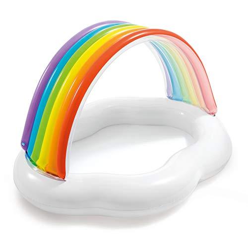 Intex Rainbow Cloud Inflatable Kiddie Wading Baby Pool