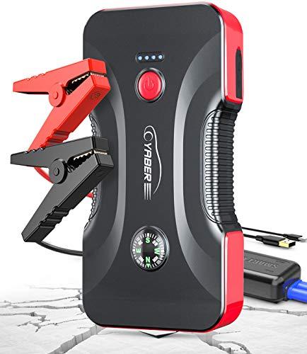 YABER Booster Batterie - 800A 12800mAh Démarrage de Voiture...