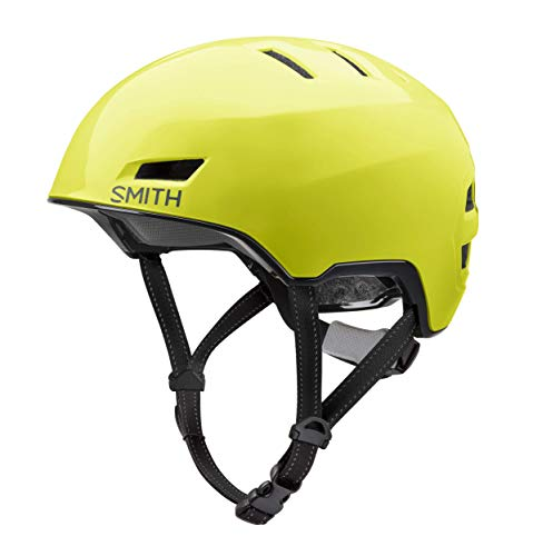 SMITH Casco de Bicicleta Unisex para Adultos, Color Gris, L