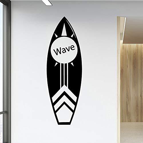 xinyouzhihi Kreative Welle Skateboard Vinyl tapetenbahn möbel Dekoration PVC wandtattoo Dekoration Wand 42x129 cm