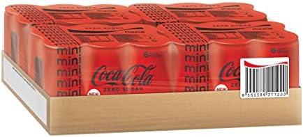 Coca-Cola Zero Sugar Mini Cans, 24 x 180ml