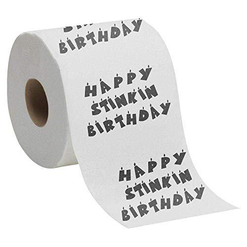 Happy Stinkin Birthday - Toilet Paper Gift -Novelty Birthday Present -Toilet Roll -Quirky Birthday