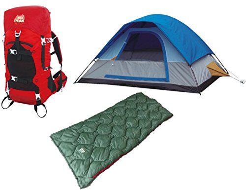 Alpinizmo High Peak USA Vector 38 Backpacks One Size HP 456 Set of 2 Grey